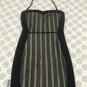 Nikibiki Black Striped Dress Size M